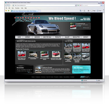 Car / Truck / SUV / RV Website Design