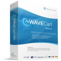 WaveCART PRO V8 Ecommerce Software WaveVID - WavePIX Level 1 Special