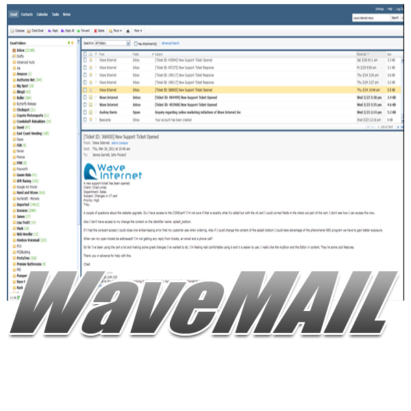 9.) WaveMAIL Management