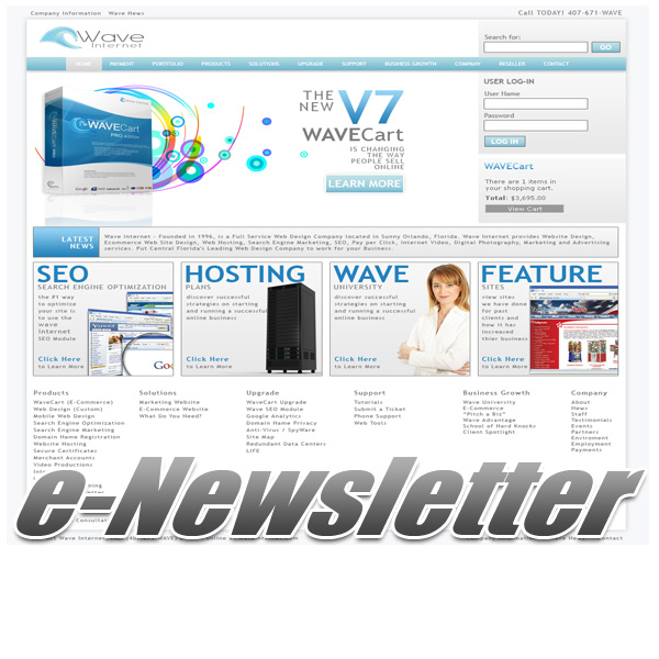 WaveNEWS - Marketing e-Newsletter