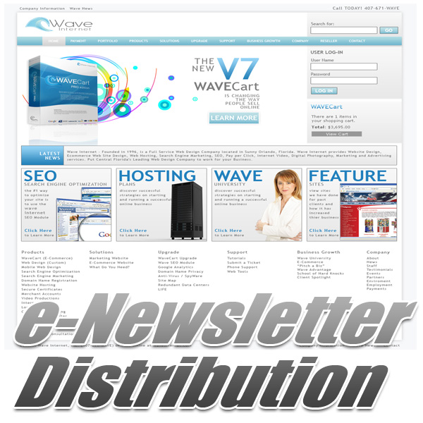 e-Newsletter Distribution
