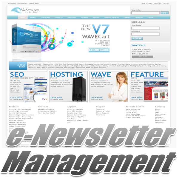 e-Newsletter Management